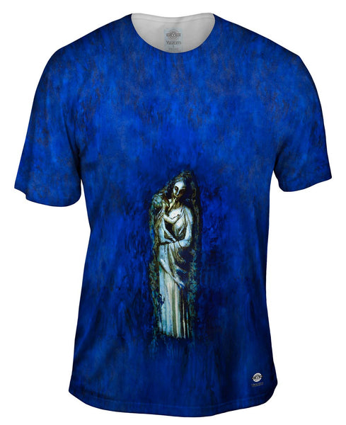 """Madonna With Garland"" Mens T-Shirt"
