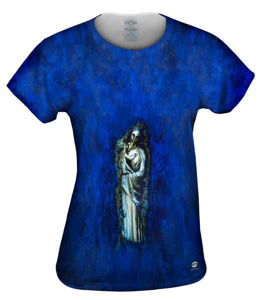 """Madonna With Garland"" Womens Top"