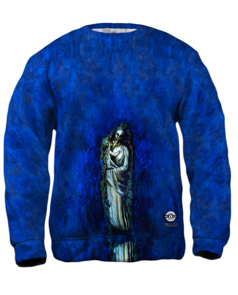 """Madonna With Garland"" Mens Sweatshirt"