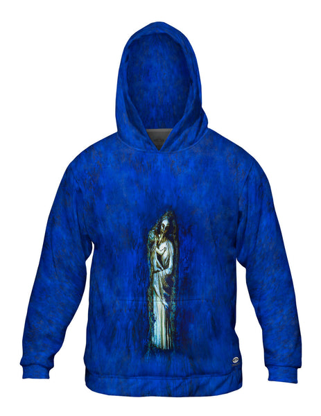 """Madonna With Garland"" Mens Hoodie Sweater"