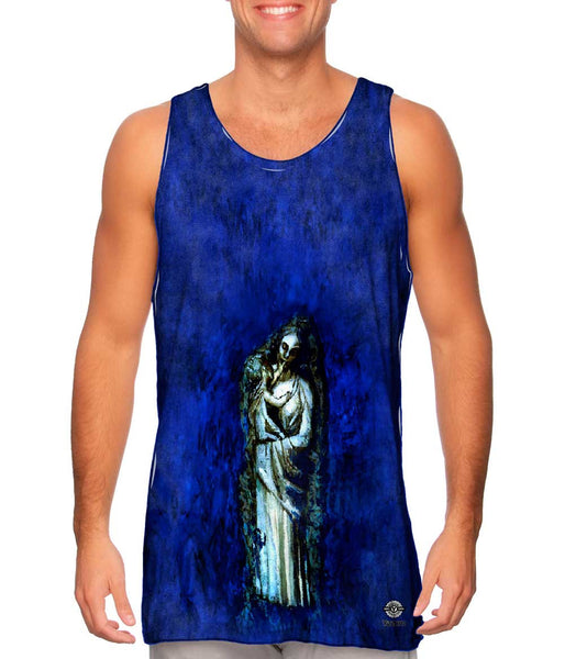 """Madonna With Garland"" Mens Tank Top"