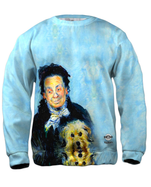 "Claude Monet - ""Portrait of Eugenie Graff"" (1882) Mens Sweatshirt"