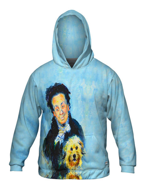 "Claude Monet - ""Portrait of Eugenie Graff"" (1882) Mens Hoodie Sweater"