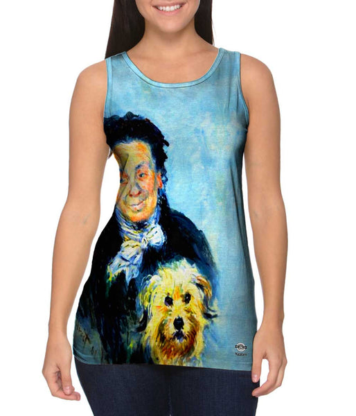 "Claude Monet - ""Portrait of Eugenie Graff"" (1882) Womens Tank Top"
