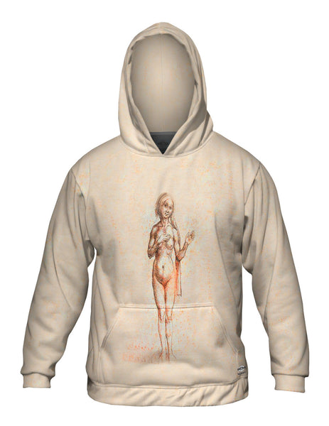 "Albrecht Dürer - ""Female Nude"" (1493) Mens Hoodie Sweater"