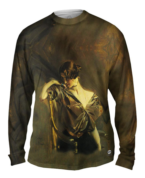 """Cleo de Merode"" Mens Long Sleeve"