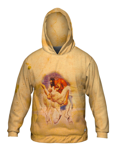"""Nessus and Deianeira"" Mens Hoodie Sweater"