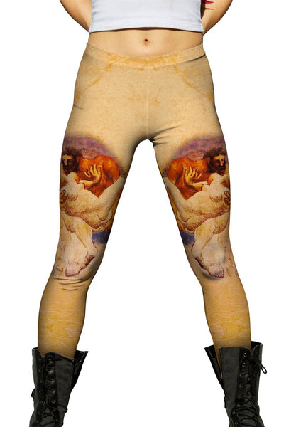 """Nessus and Deianeira"" Womens Leggings"