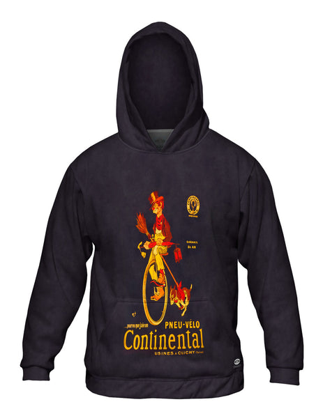 """If Only I Had A Continental Bicycle Tire Advertising Poster"" Mens Hoodie Sweater"
