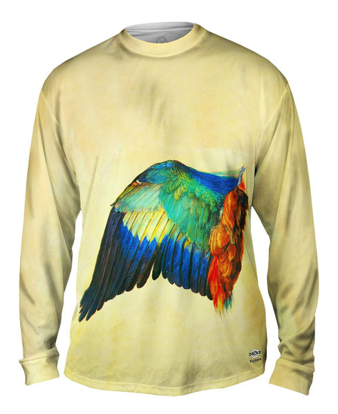 "Albrecht Durer - ""Wing of a Blue Roller"" (1512) Mens Long Sleeve"