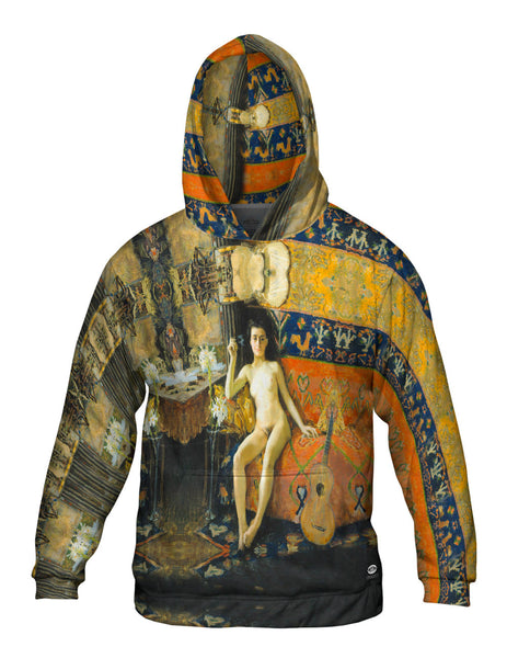 "Akseli Gallen-Kallela - ""Demasquee"" (1888) Mens Hoodie Sweater"
