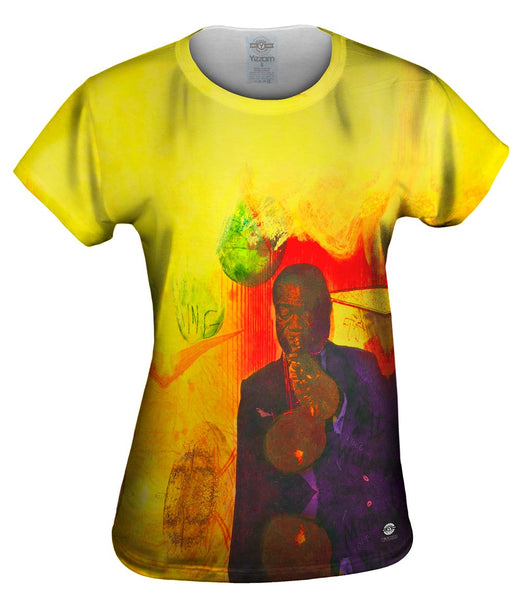 "Adi Holzer - ""Louis Armstrong"" (2002) Womens Top"
