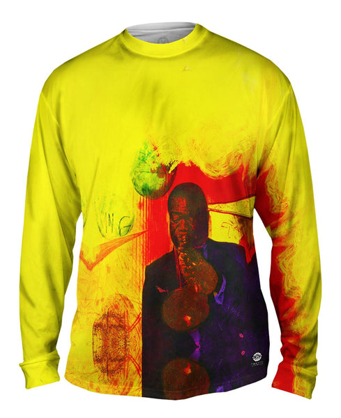 "Adi Holzer - ""Louis Armstrong"" (2002) Mens Long Sleeve"
