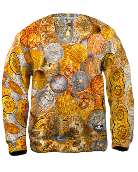 """Antique Coins"" Mens Sweatshirt"