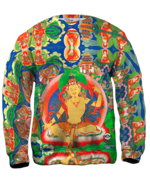 """Bhutanese Thanka Of Guru Nyima Ozer"" Mens Sweatshirt"