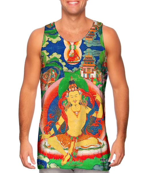 """Bhutanese Thanka Of Guru Nyima Ozer"" Mens Tank Top"