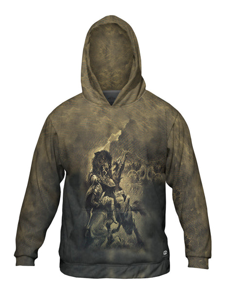 "Dorothy Hardy - ""Odin and Fenris"" (1909) Mens Hoodie Sweater"