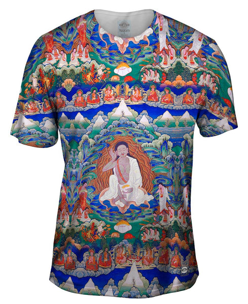 """Bhutanese painted thanka of Milarepa"" Mens T-Shirt"