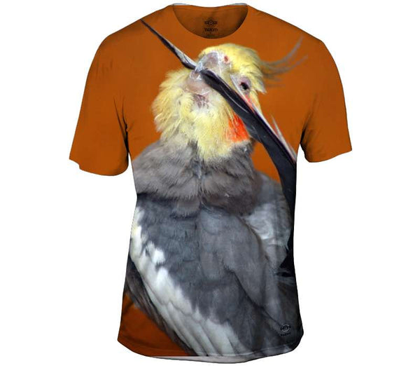 Cockatiel Got My Tail Mens T-Shirt