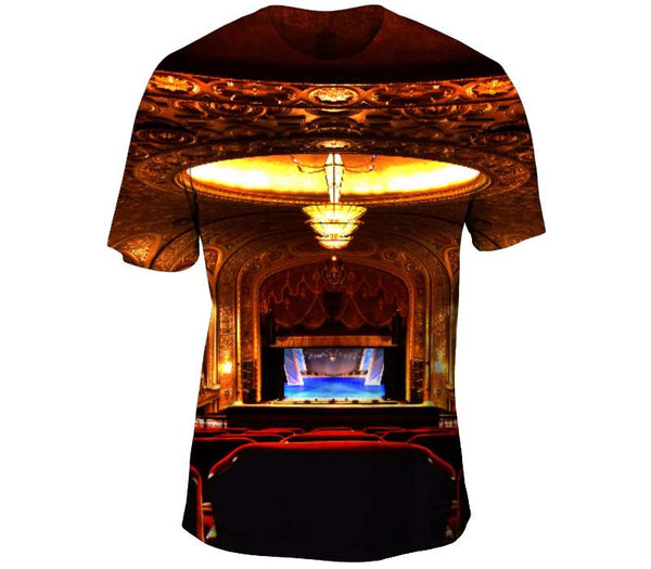 All The World Is A Stage Mens T-Shirt