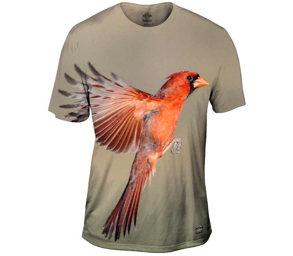 Northern Cardinal Mens T-Shirt