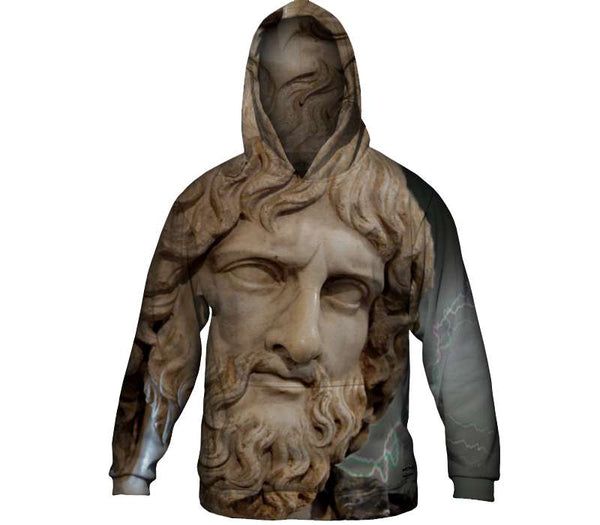 Zeus Attacks Mens Hoodie Sweater