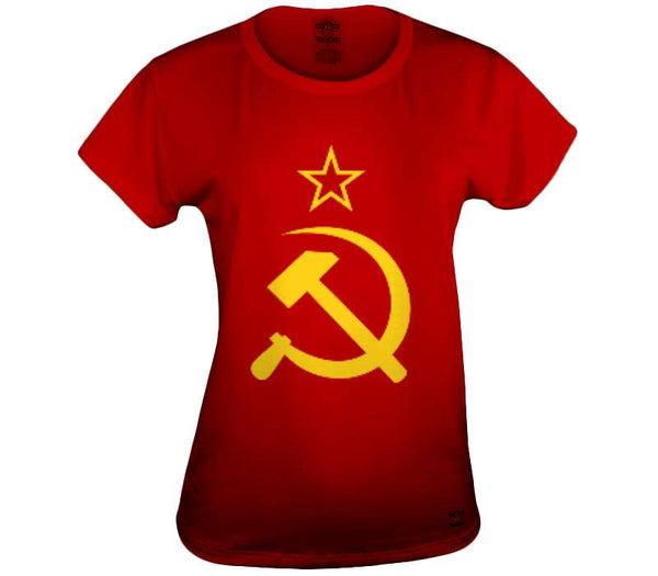 Flag of the Soviet Union Womens Top