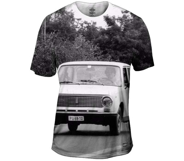 Getting a Lift From The Peoples Car Mens T-Shirt