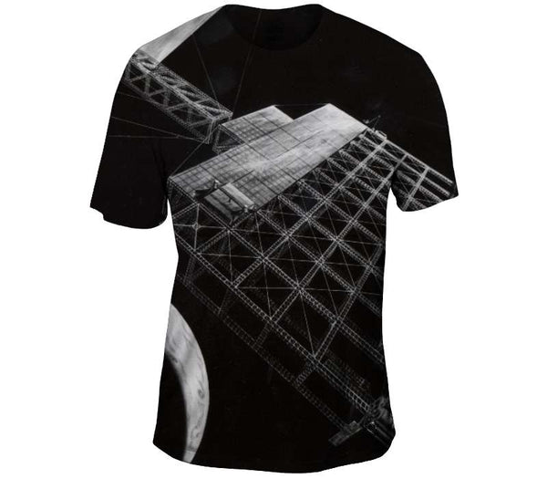Building the Future in Space Mens T-Shirt