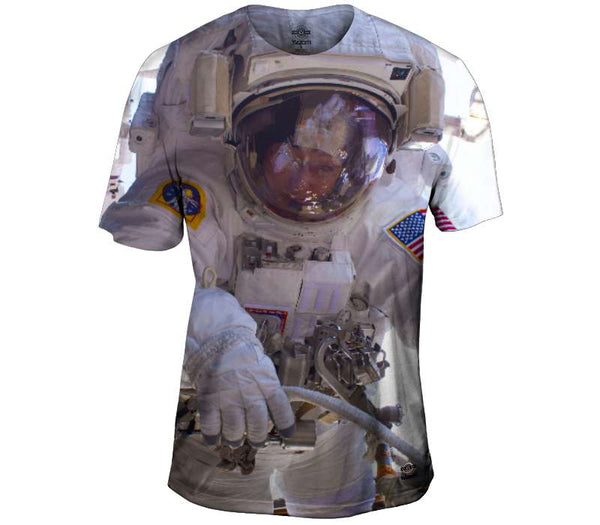 Going EVA on the ISS Mens T-Shirt