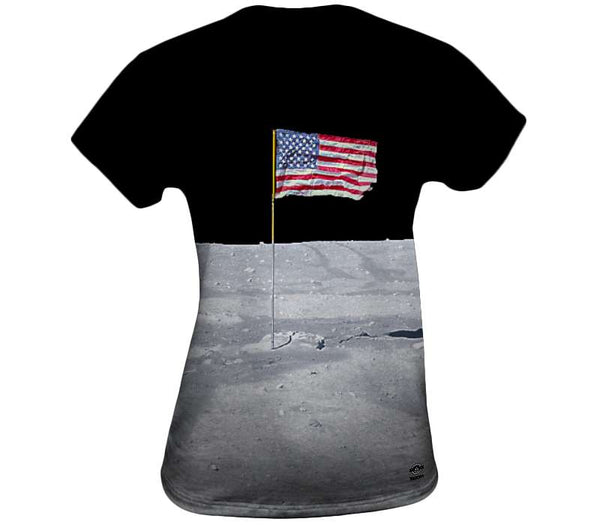 The Moon Flag Womens Top