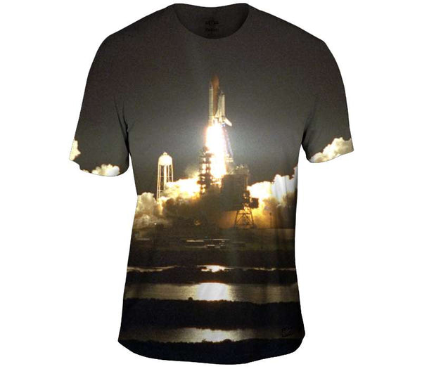 The Night Launch Mens T-Shirt