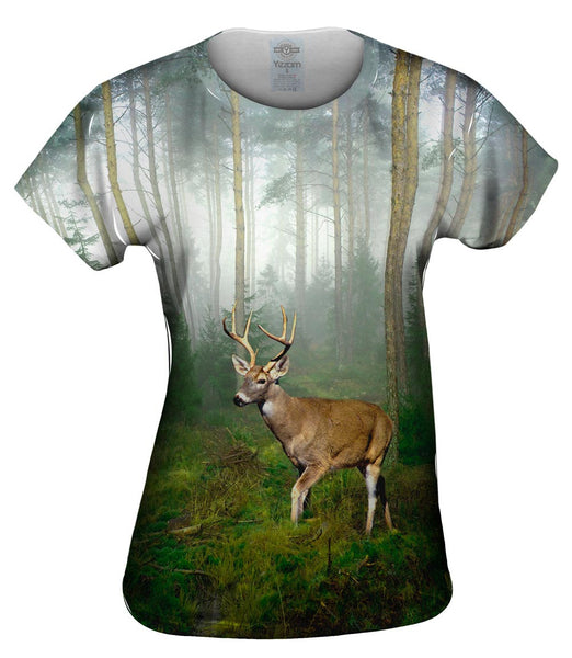 Wandering deer Womens Top