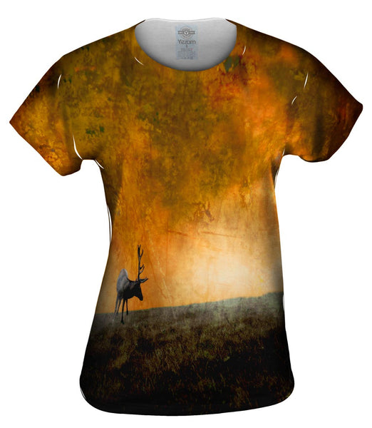 Deer Pasteur Womens Top