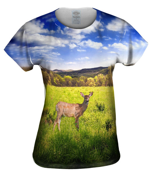 Deer Sky Womens Top