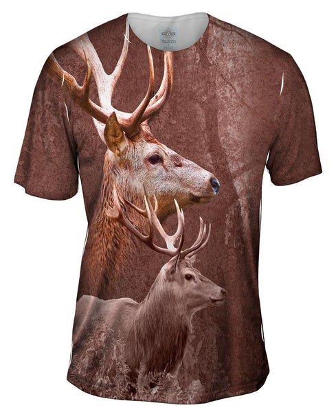 Deer Forest Mens T-Shirt