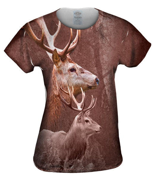 Deer Forest Womens Top