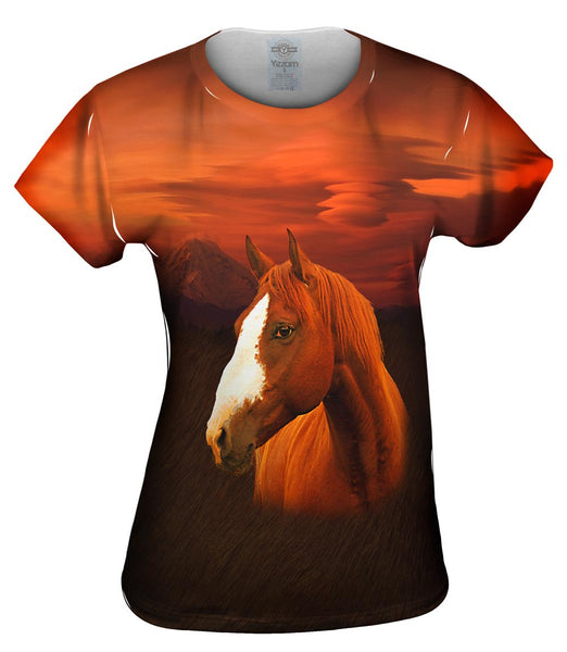Painted Horse Womens Top