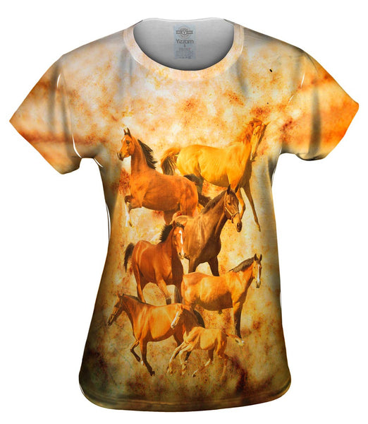 Horse Family Womens Top