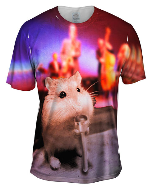 Jazz Mouse Mens T-Shirt