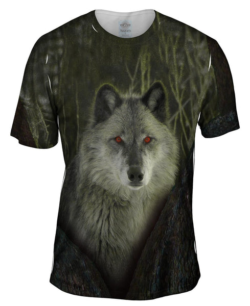 Tree Wolf Mens T-Shirt