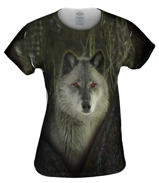 Tree Wolf Womens Top