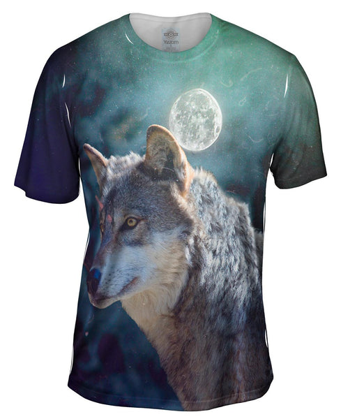 Luna Wolf Mens T-Shirt