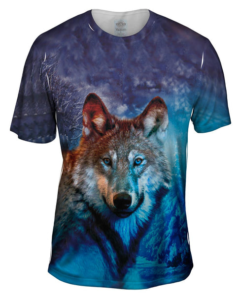 Grey Wolf Mens T-Shirt