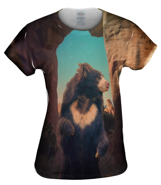 Paris Sun Bear Womens Top