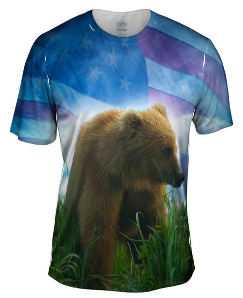 July Bear Mens T-Shirt