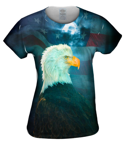 Night Eagle Womens Top