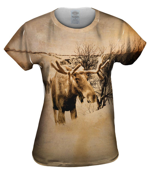 Farm Moose Womens Top