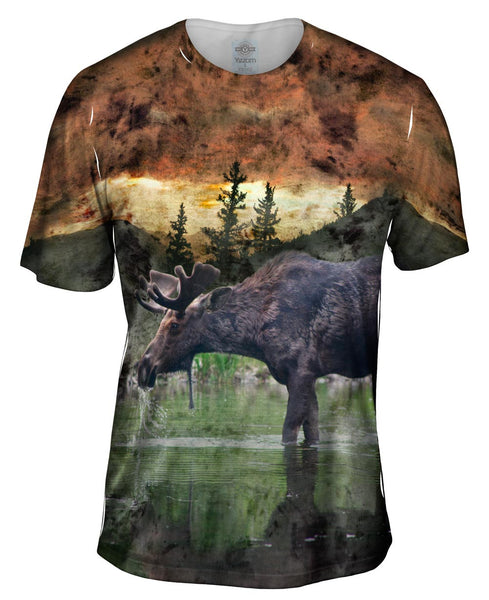 Lake Moose Mens T-Shirt