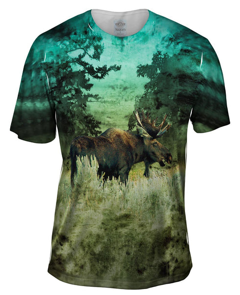 Lone Moose Mens T-Shirt